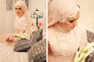 veil nikah simple cantik