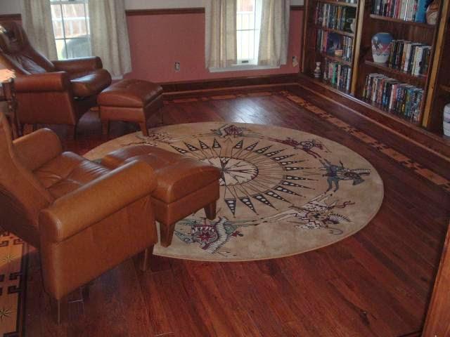 desain lantai kayu minimalis modern