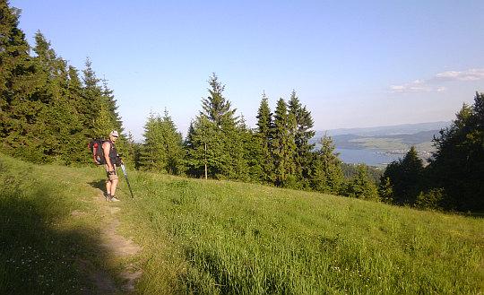 Panorama z Bukowinki (937 m n.p.m.).