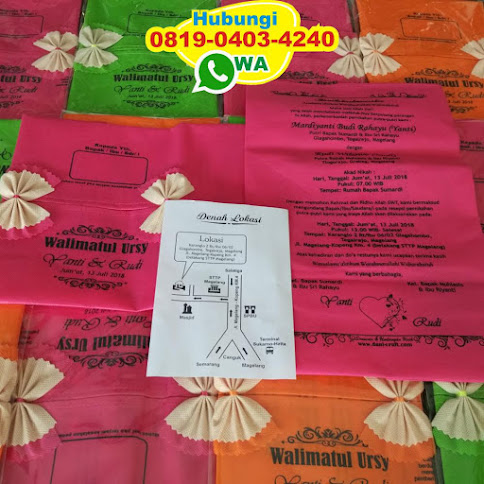 souvenir pernikahan tempat tisu di jogja 54456