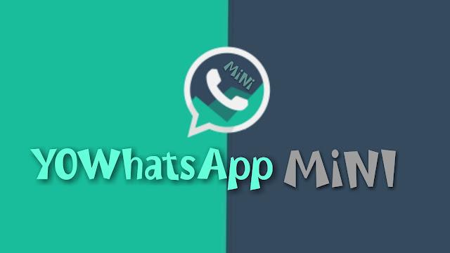 Download YoWhatsApp Mini v3.0 apk Mod