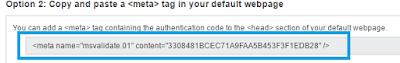 Cara Terbaru Daftar Bing Webmaster Tools