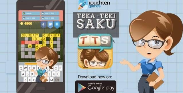 permainan teka teki silang untuk android