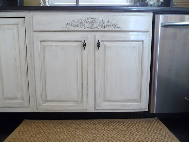 Our Fifth House: Distressed Kitchen Cabinets: How To
