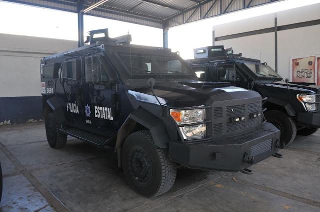 Estos son los vehículos de más de 4 mdp que ahora usaran los policías de Sinaloa