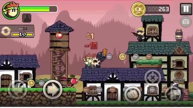 TOP 25 FREE iOS GAMES OF ALL TIME 9. Dan The Man
