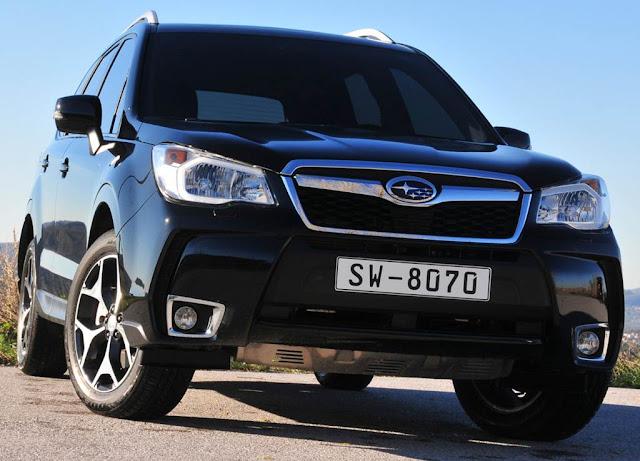 Subaru convoca quatro modelos para recall
