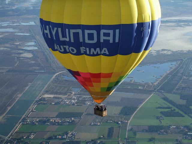 Balloon flights in Alicante