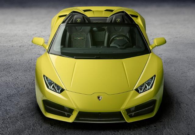 2018 Lamborghini Huracan RWD Spyder Front