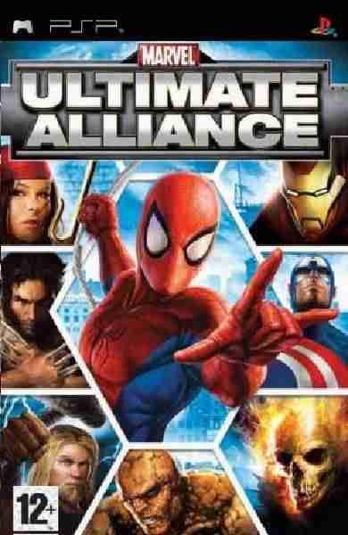 Marvel Ultimate Alliance v2 %255BENG%255D%255BUSA%255D%255BPLAYASiA%255D %2528Poster%2529 - Marvel Ultimate Alliance v2 For PlayStation Portable
