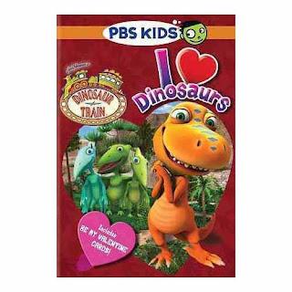 Dinosaur Train, PBS Kids, Valentine's Day