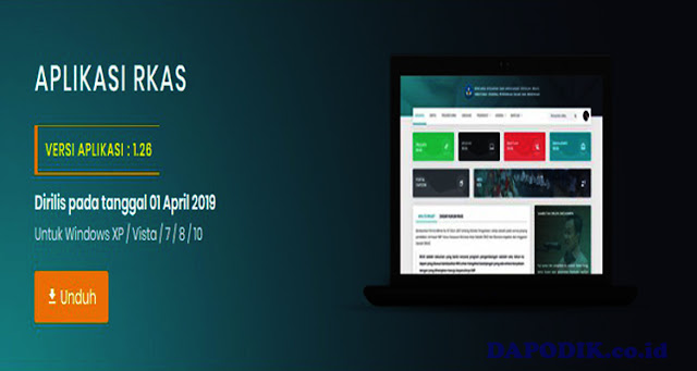 Setup Aplikasi RKAS-1.28 Versi 01 April 2019 - http://rkas.dikdasmen.kemdikbud.go.id
