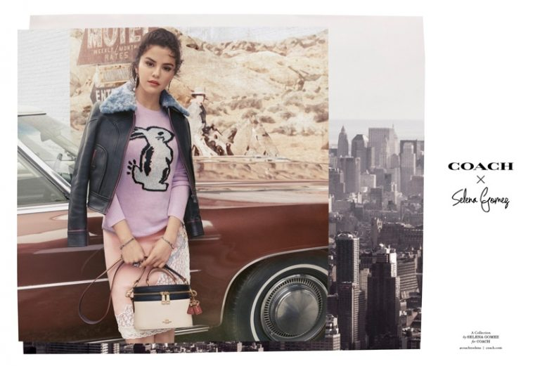 Coach x Selena Gomez Fall/Winter 2018 Campaign