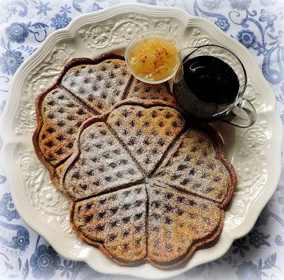 Spiced Pumpkin Waffles