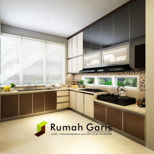 interior apartemen rumah garis modern minimalis