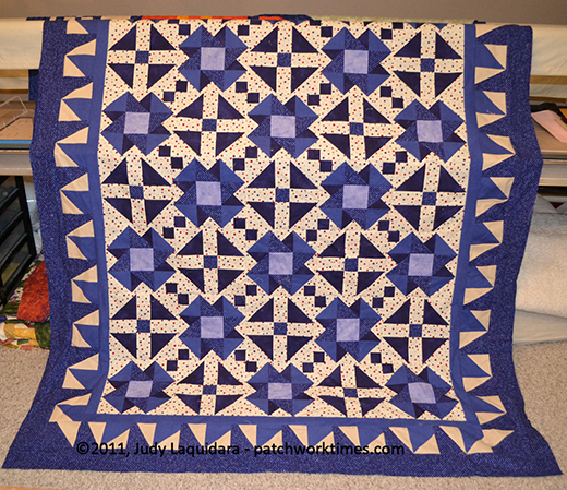Electric Indigo Quilt Free Pattern