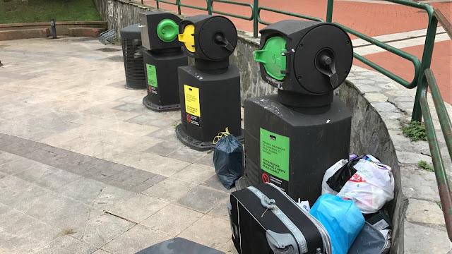 Policías de paisano multarán con hasta 750 euros a quien deje la basura fuera del contenedor