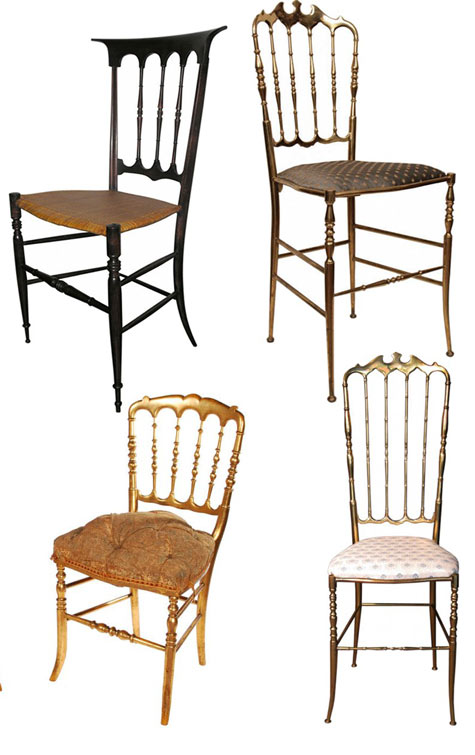 SANOJAH'S: The Chiavari Chair History