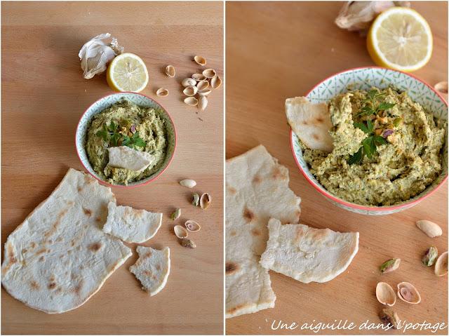 Sabrina Ghayour feta and pistachio dip