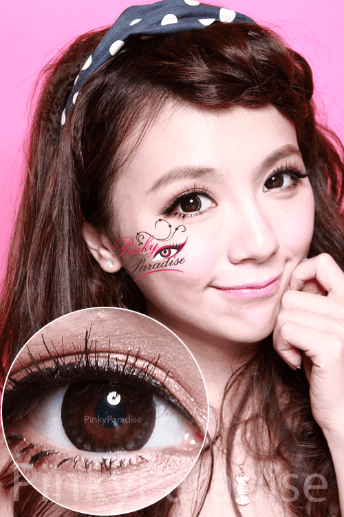Hana SPC Hyper Circle Black Circle Lenses (Colored Contacts)