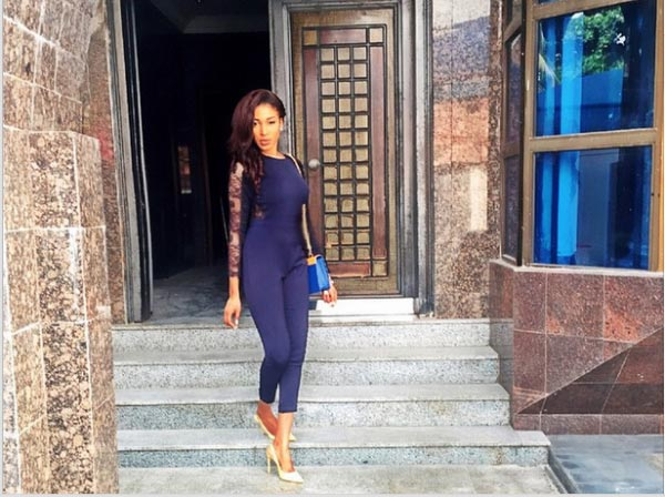 Dabota Lawson accused of shamelessly stealing from cosmetics company, gets sued