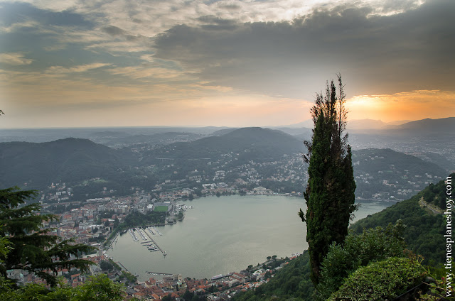 Viaje Italia Como Lago Como Mirador Brunate