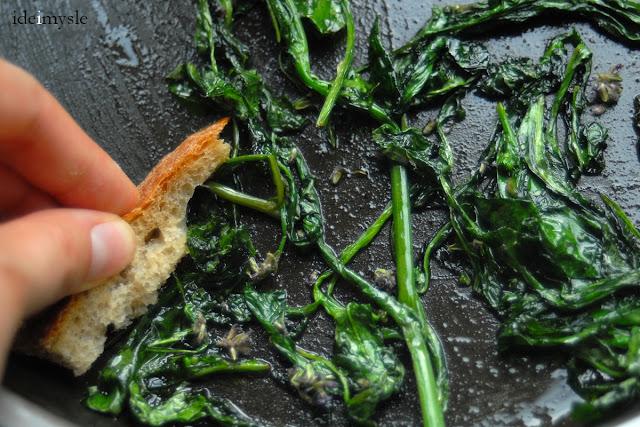 dzikie rośliny jadalne, jadalne chwasty, dzika sałata przepis