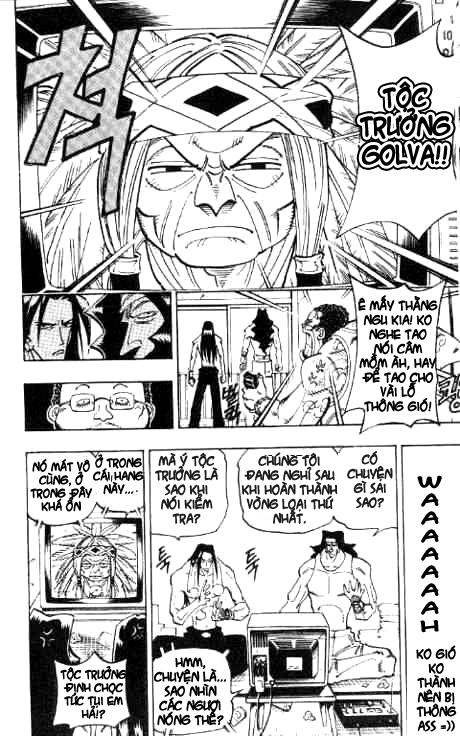 Shaman King [Vua pháp thuật] chap 54 trang 9