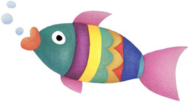 Dibujos De Peces A Color Para Imprimir: Peces De Colores Para Imprimir