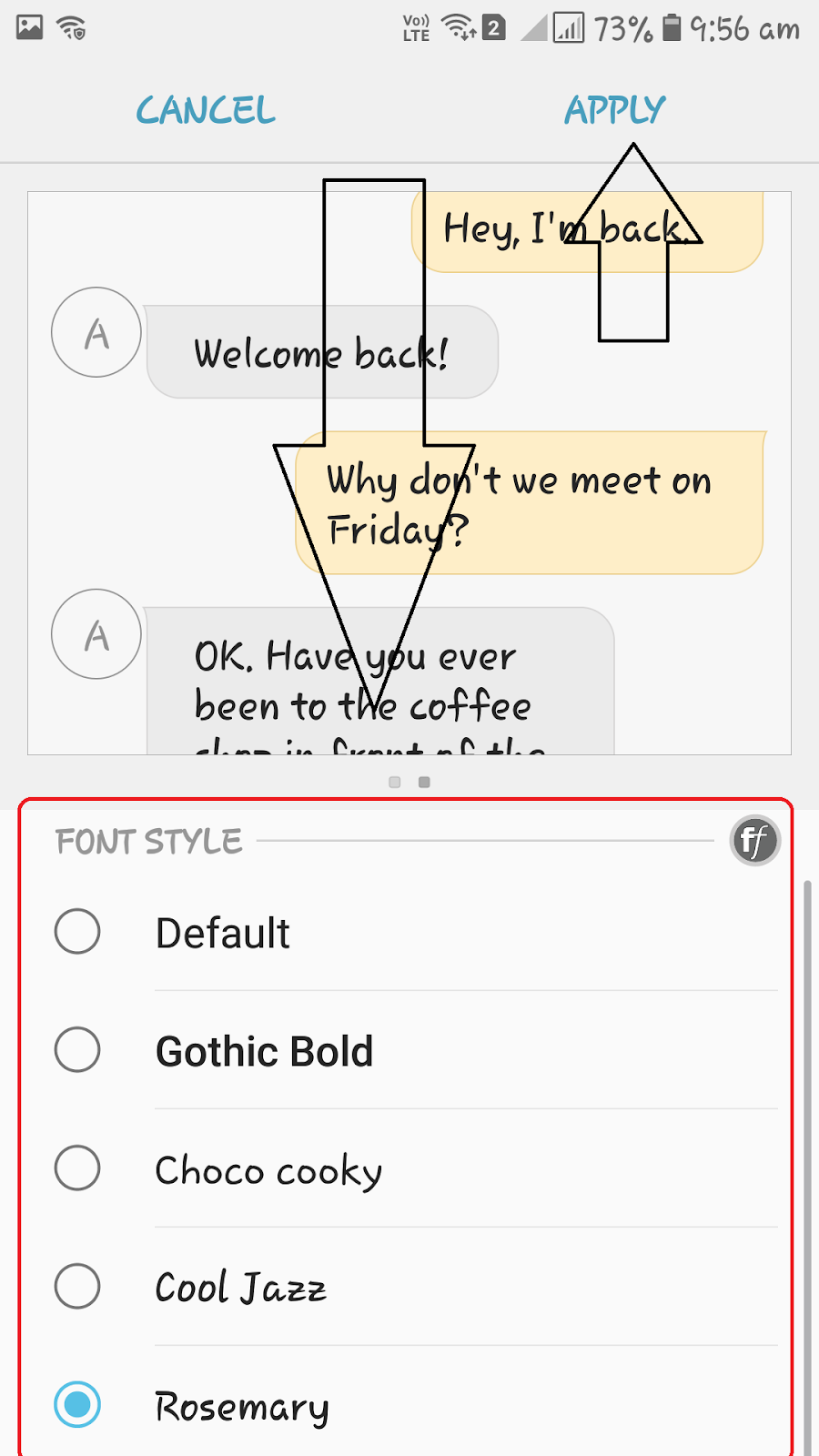 How to change font style in New Samsung Mobiles (J7 Max ) ( Nougat