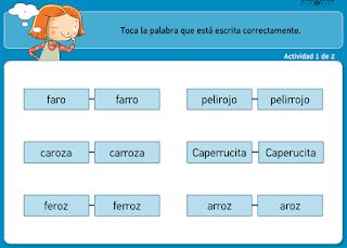 http://www.primerodecarlos.com/TERCERO_PRIMARIA/archivos/actividades_tilde_tercero/1/r_rr_1.swf