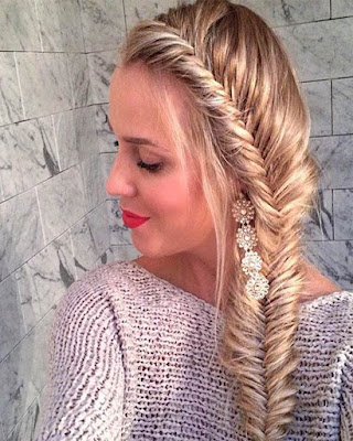 hairstyle with braids long for women