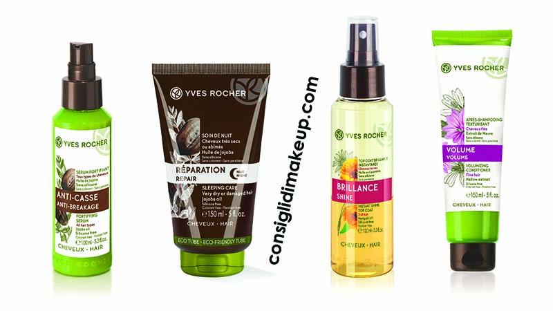 Nuovi trattamenti Vegetali capelli Yves Rocher