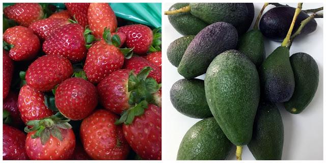 Tartar de aguacate y fresas