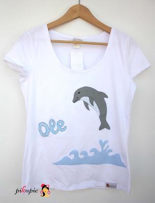 Camisetas delfín despedida de soltera flamenca María. Pikapic.