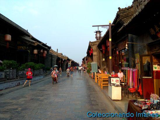 Calle principal de Pingyao