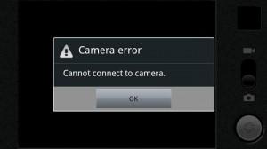 Kamera Depan atau Belakang Android yang Eror