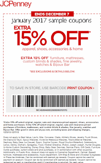 Printable Coupons 2018 JCPenney