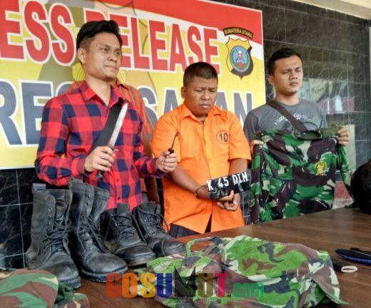 TNI Gadungan Sindikat Perampokan Pincang Ditembak Polisi