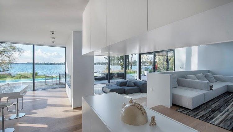 Casa De Cristal Junto Al Lago Bbsc Architects Blog