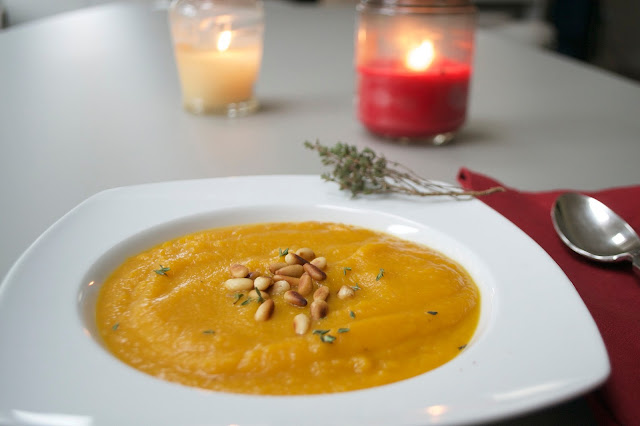 butternut squash suppe rezept