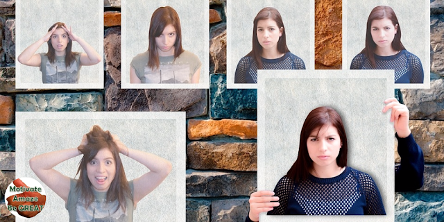 """Featured image in the article: """"Mastering Nonverbal Communication & Reading Body Language"""" - How to use your facial expression"""