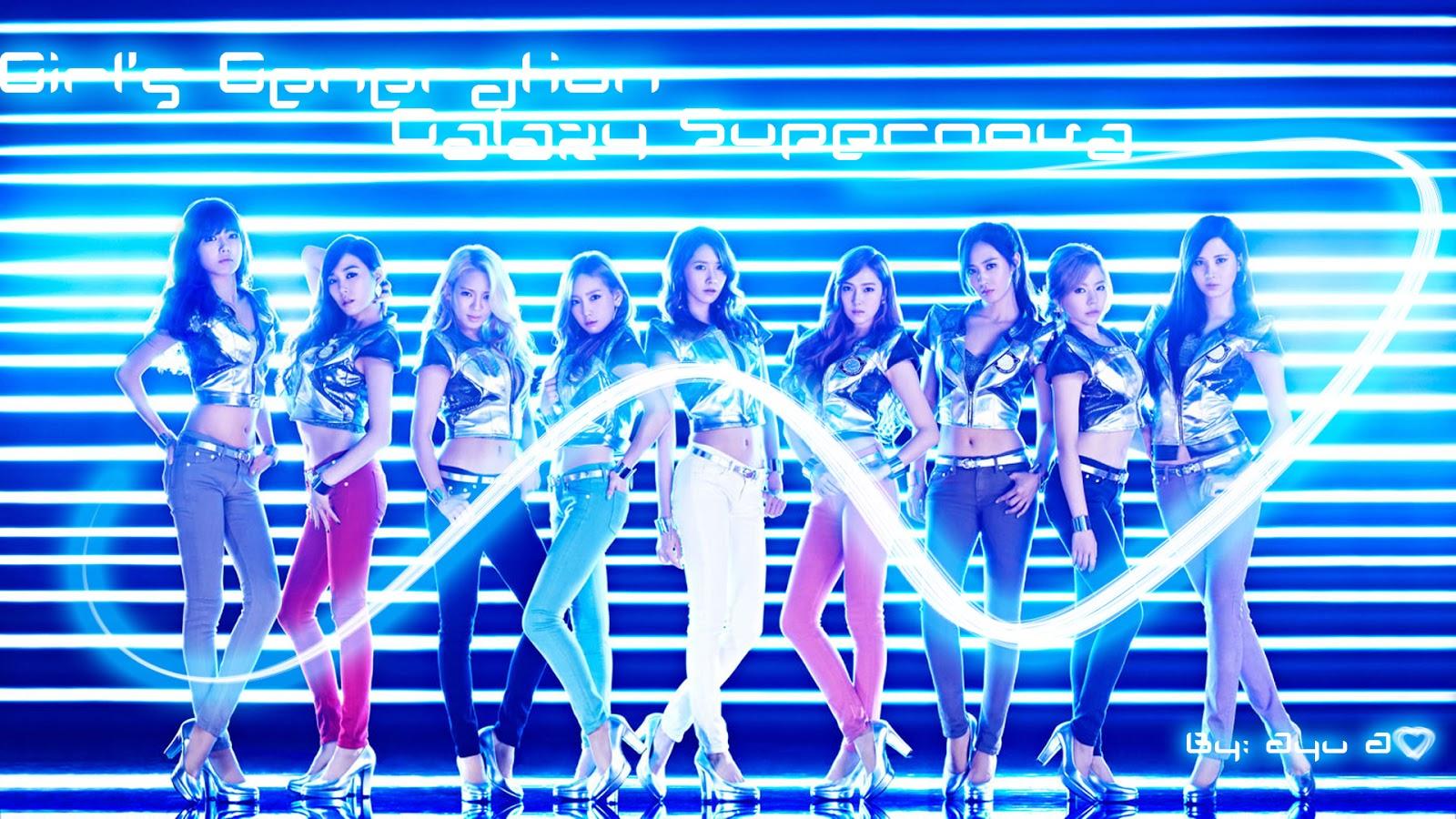 Galaxy Supernova - Girls' Generation - Jurnal Maman