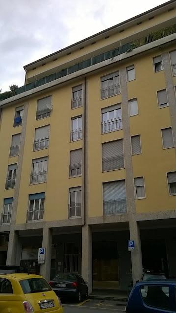 azzano san paolo piazza IV novembre 16 facciata ritinteggiata