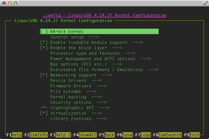blue: Compile Raspberry Pi Desktop Linux Kernel