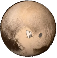 heart or Pluto the dog?