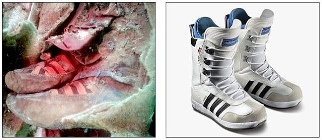 Este par de botas fue hallado en una tumba turkic antigua
