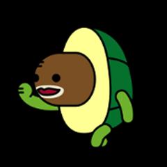 Avocado turtle, Ah-go!
