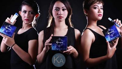 Cream perawatan wajah beautysky promo model