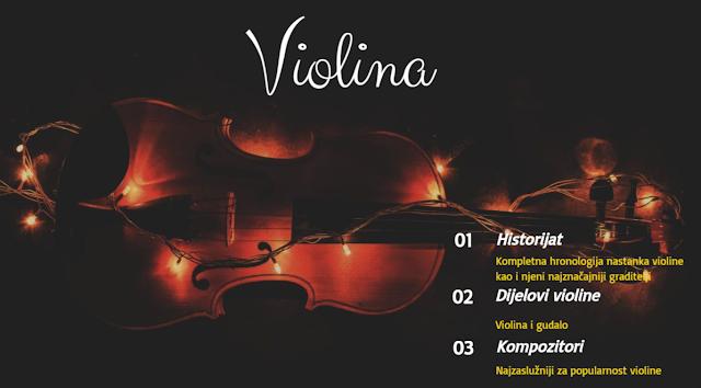 DIGITALNI ALATI - GENIALLY - HISTORIJAT VIOLINE